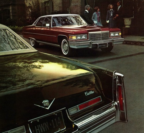 1976 Cadillac Optional Equipment