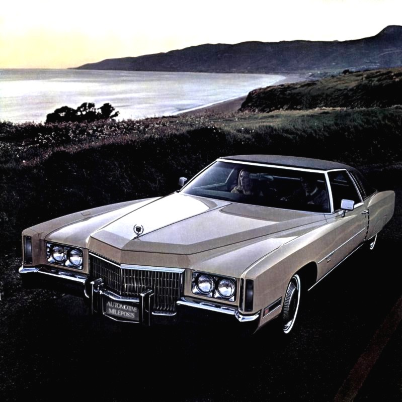 1971 Cadillac Eldorado Standard Equipment