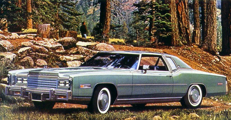 1978 Cadillac Eldorado Standard Equipment