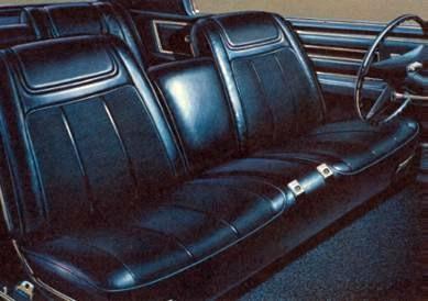 1967 Cadillac Eldorado Interior Trim