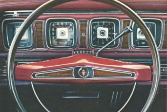 1969 Continental Mark Iii Standard Equipment