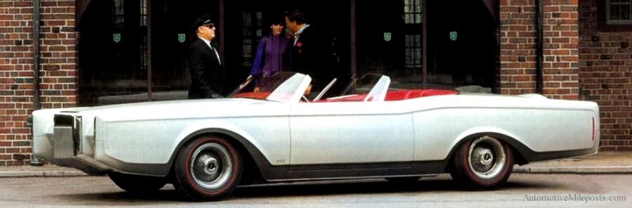 1970 Continental Mark Iii Dual Cowl Phaeton Show Car