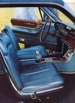 1965 Ford Thunderbird Interior Trim