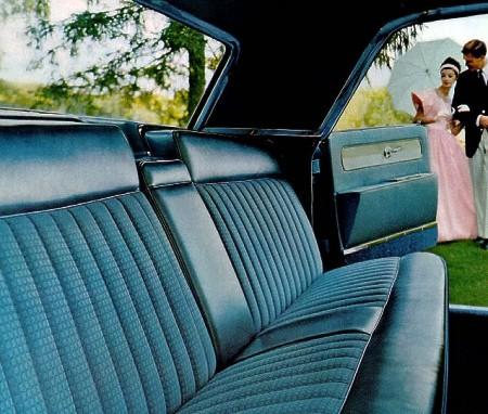 1961 Lincoln Continental Interior Trim