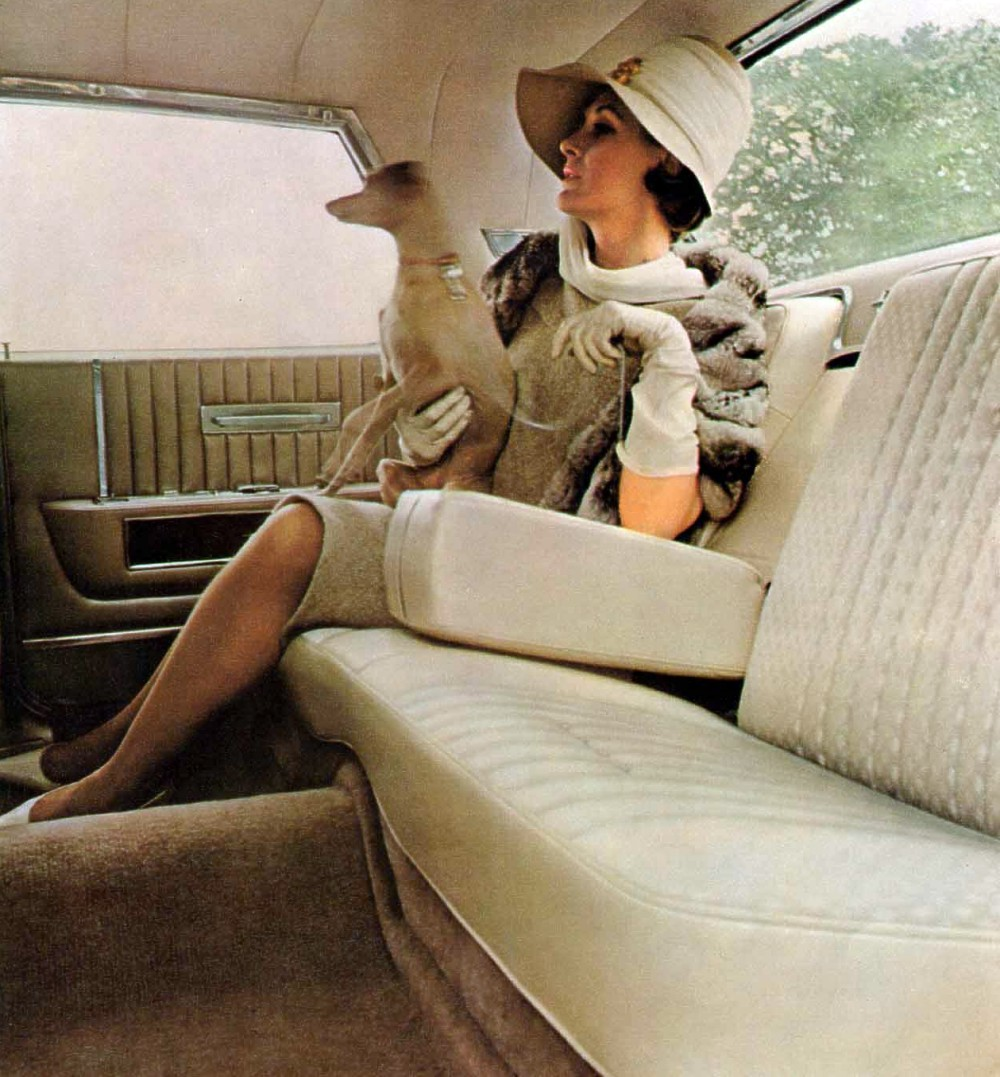 1964 Lincoln Continental Interior Trim