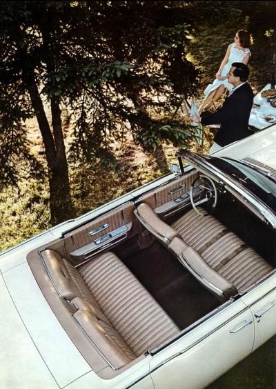 1965 Lincoln Continental Interior Trim