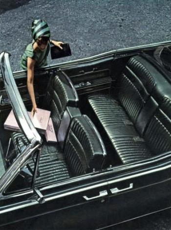 1966 Lincoln Continental Interior Trim