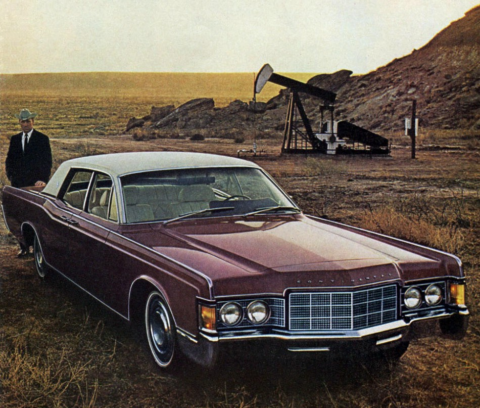 1969 Lincoln Continental Contents