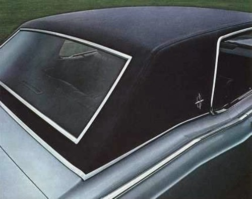 1969 Continental Mark Iii Interior Trim