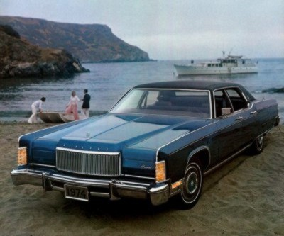 1974 Lincoln Continental Automotive Mileposts