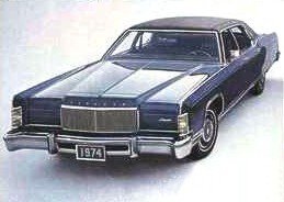 1974 Lincoln Continental Optional Equipment