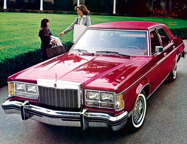 1978 Lincoln Versailles Contents Automotive Mileposts