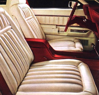 1977 Ford Thunderbird Interior Trim