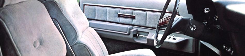 1977 Ford Thunderbird Interior Trim