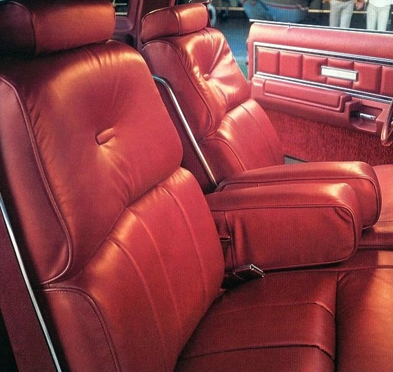 1978 Ford Thunderbird Interior Trim